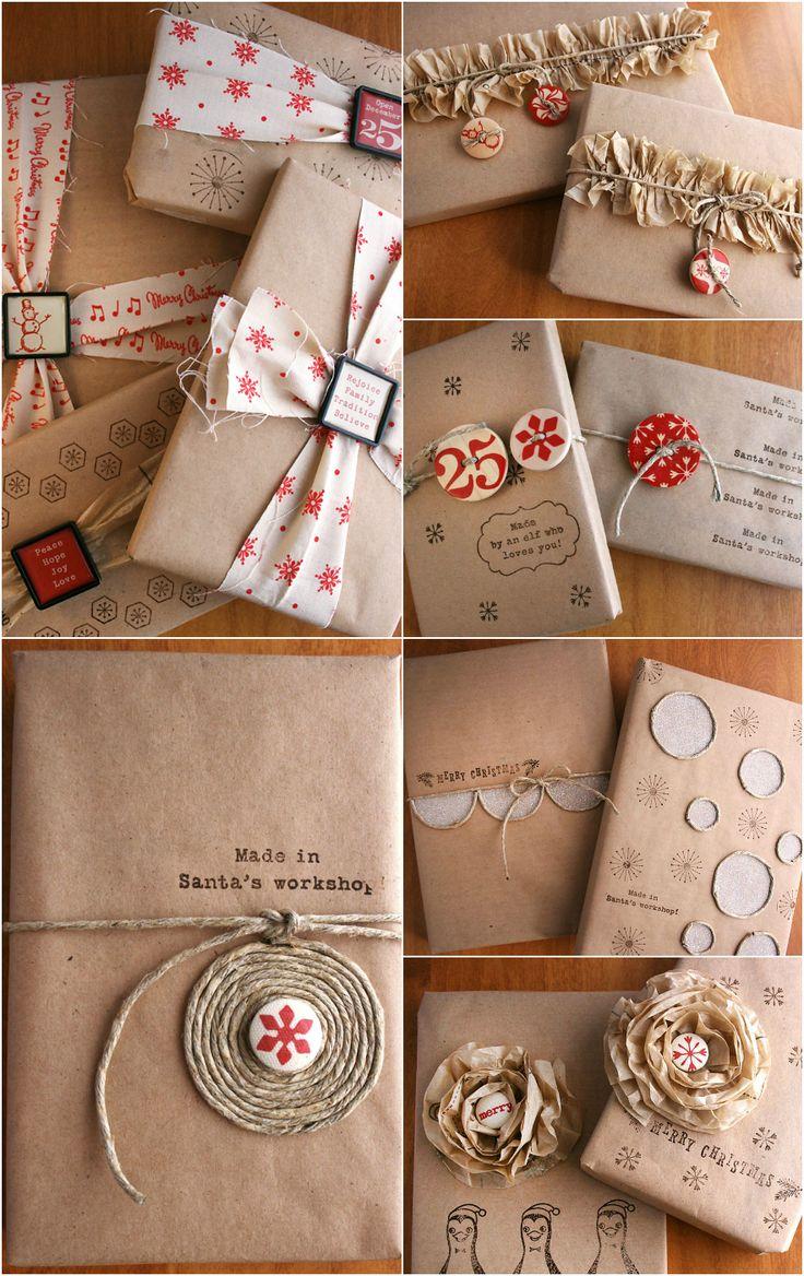 Скрапбукинг упаковка подарков своими руками
