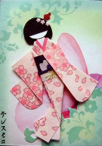 Giấy Thuận An | Búp bê xếp giấy Nhật Bản quả là một môn nghệ thuật
