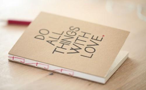 Giấy Thuận An |Sổ tay giấy kraft nhìn rất phong cách và cá tính phải không?